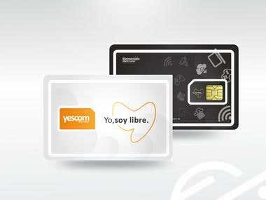 Diseño de tarjeta Sim