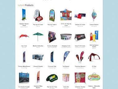 Advance E commerce Website