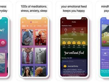 Emotion & Stress mediation app