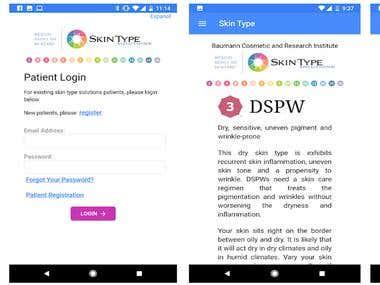 Skin Care Help app
