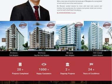 Building a Construction Company website