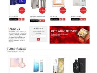Building a Shopping website