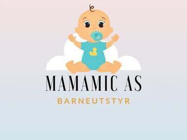 Logo MamaMic Baby Shop