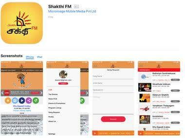 mStudio iOS App