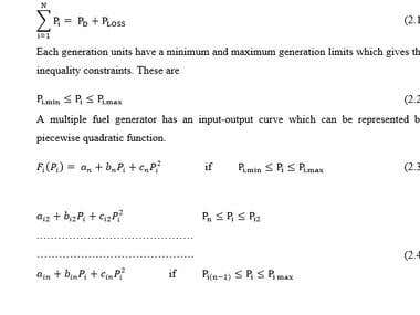 Mathematical Equations Typing
