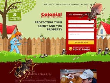 Colonial Website