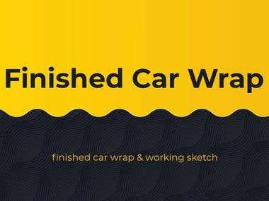 Finished Car Wrap