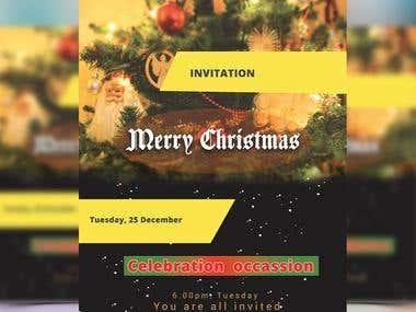 A Christmas Flyer Design
