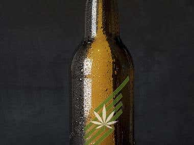 Birra mock up for Cannabis startUp