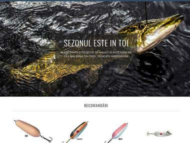 Shopify Fishing Store