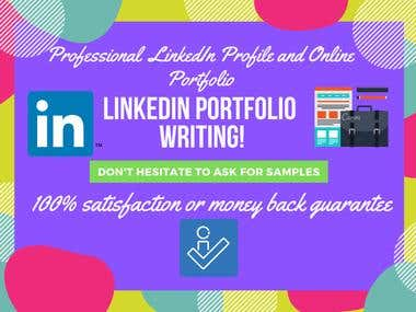LinkedIn and Online Portfolio