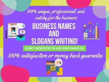 Business Writing and Slogans
