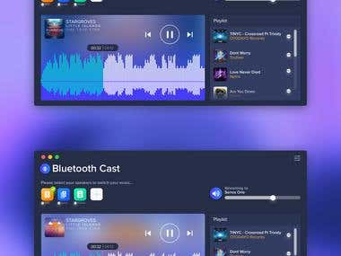 macOS App for Bluetooth Streaming