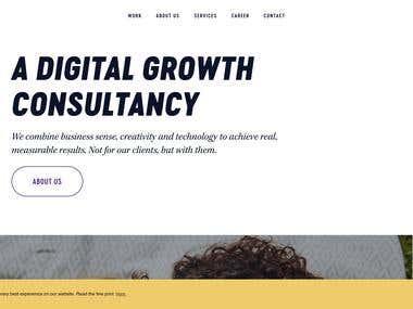 Website Developed For Bombay Works
