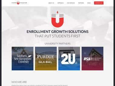 Higher Education Website