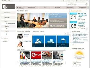 Infugena Intranet Showcase