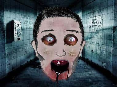 scary scene