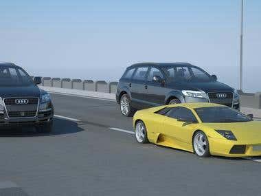 3D Car Animation