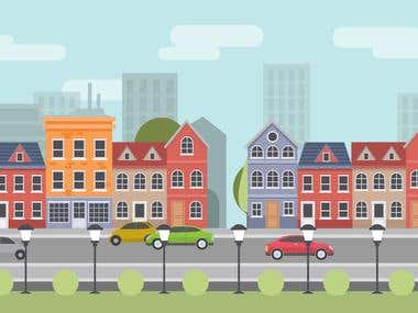 City Cartoon - Short Presentation