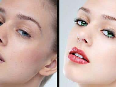 photo editing & retouching
