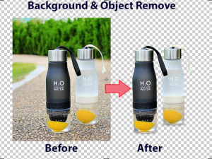 Product retouching and Background removing