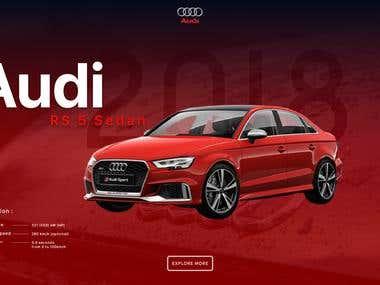 Audi RS 5 Sedan Page Concept