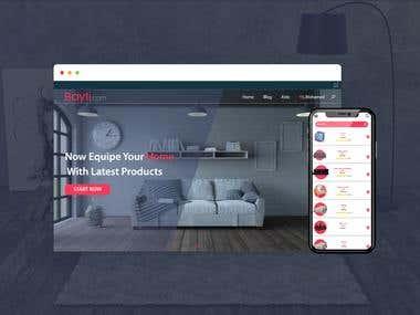 Furniture Store Concept