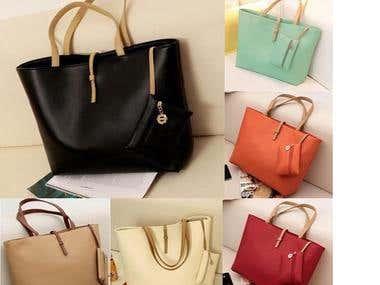 Ladies Faux Leather Bag