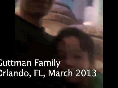 Guttman Family, Orlando, FL, 2013 v1