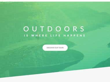 Nature business website