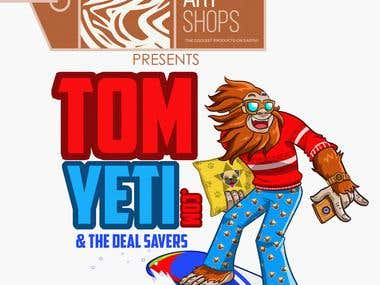 Tom Yeti Illustration