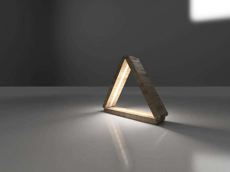 Product Conceptualisation - Geometric Lamp | Freelancer