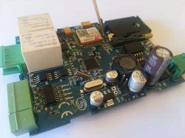 GPRS/GPS remote monitoring and control
