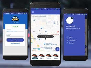 Taxi Android App