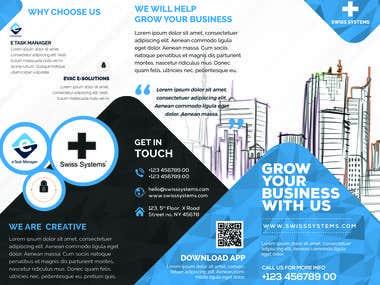 Company brochure + Product brochure