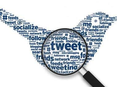 Twitter Topic Modeling and Sentiment Analysis
