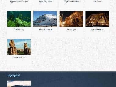 Ancient Egypt Tours website