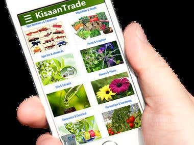 Kisan Trading App