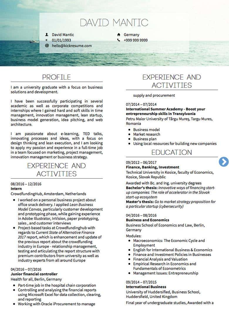 Resume and Cover Letter Writing | Freelancer