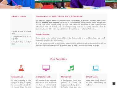 St. martin's school barnagar