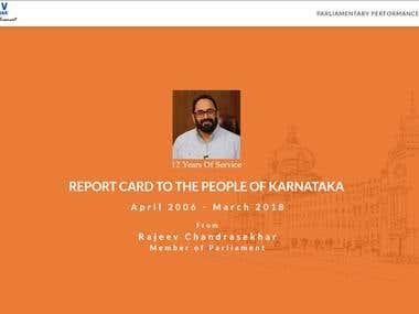 Report Card - Rajeev Chandrasekhar