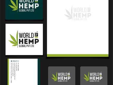 Branding for World of Hemp