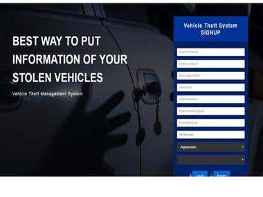Car Theft Management System