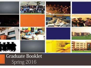 Graduate Booklet Broucher