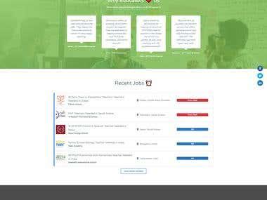 International Teaching Website