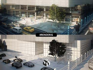 Architectural Visualization and 3D Rendering