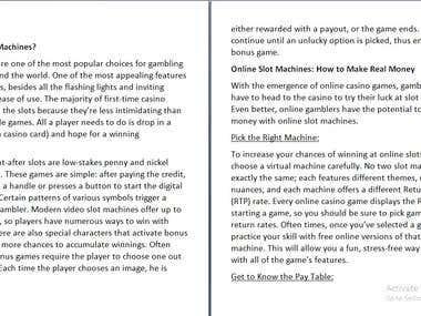 Casino Article