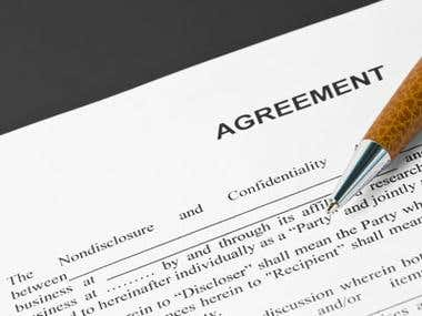 Agreement Writing