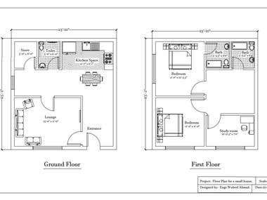 2D-Floor Plans / AutoCAD