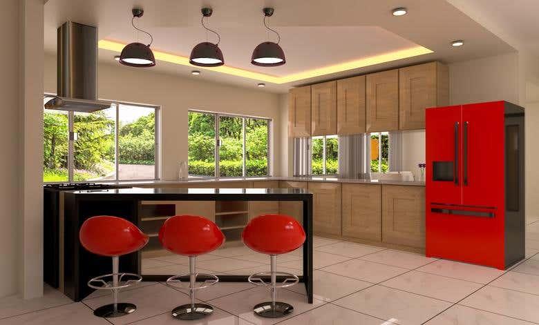 modern kitchen visualization freelancer